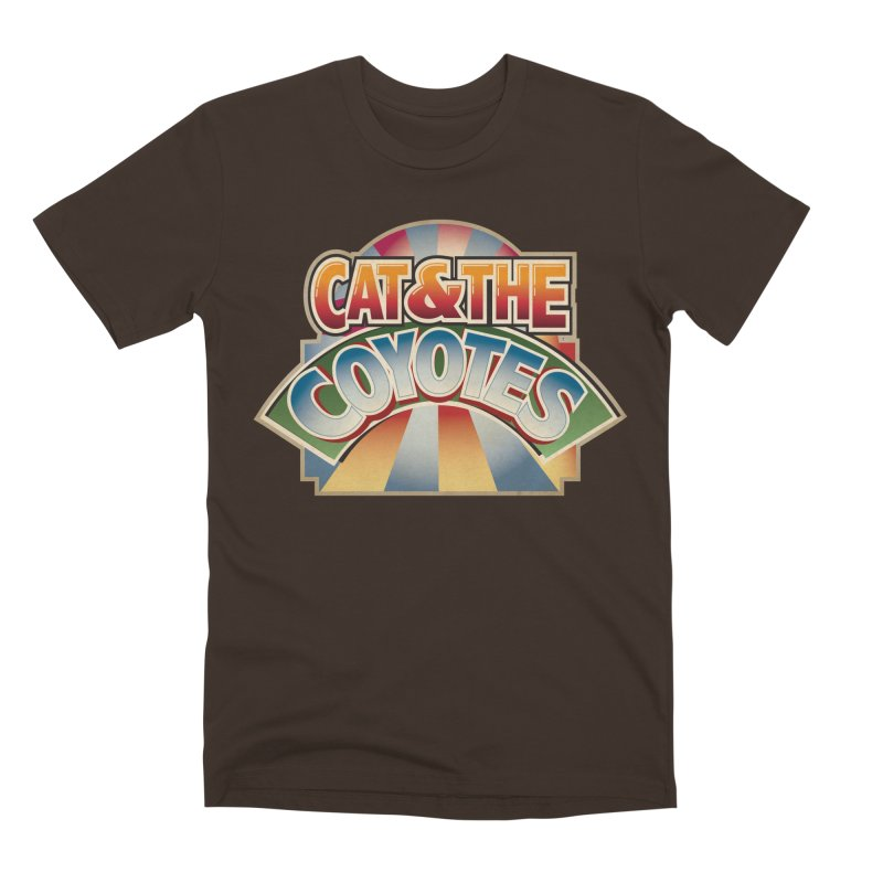 Traveling Coyotes Men's Premium T-Shirt by Magic Inkwell