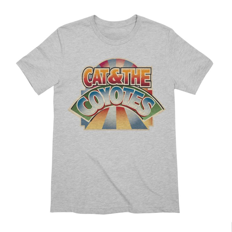 Traveling Coyotes Men's Extra Soft T-Shirt by Magic Inkwell