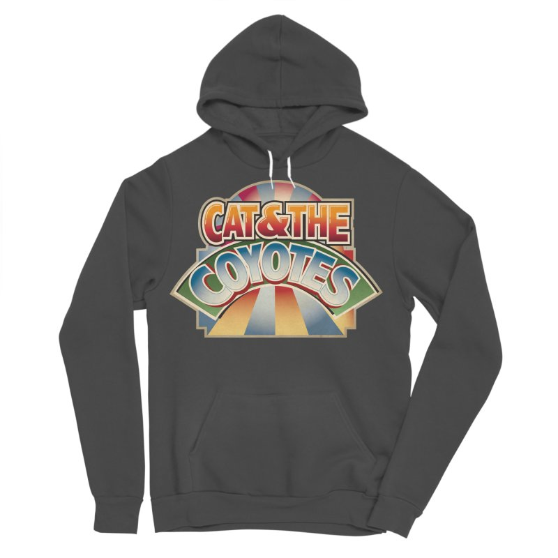 Traveling Coyotes Men's Sponge Fleece Pullover Hoody by Magic Inkwell