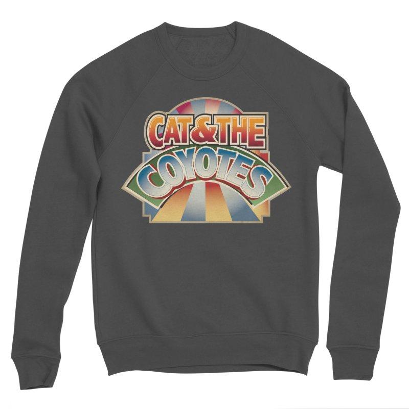 Traveling Coyotes Men's Sponge Fleece Sweatshirt by Magic Inkwell