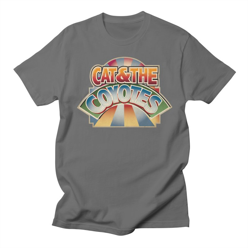 Traveling Coyotes Men's T-Shirt by Magic Inkwell