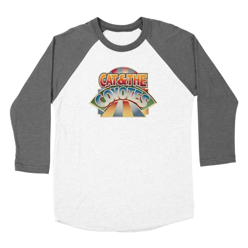 Traveling Coyotes Men's Baseball Triblend Longsleeve T-Shirt by Magic Inkwell