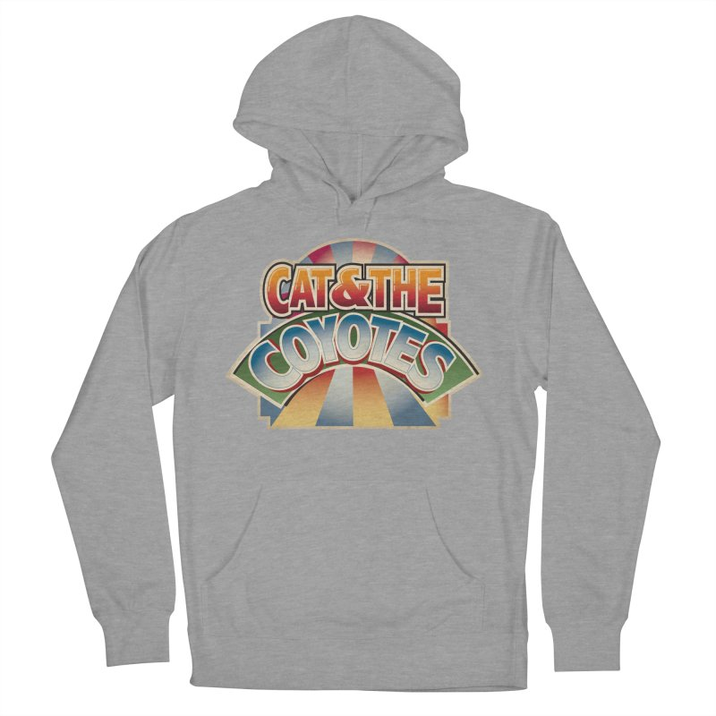 Traveling Coyotes Men's French Terry Pullover Hoody by Magic Inkwell