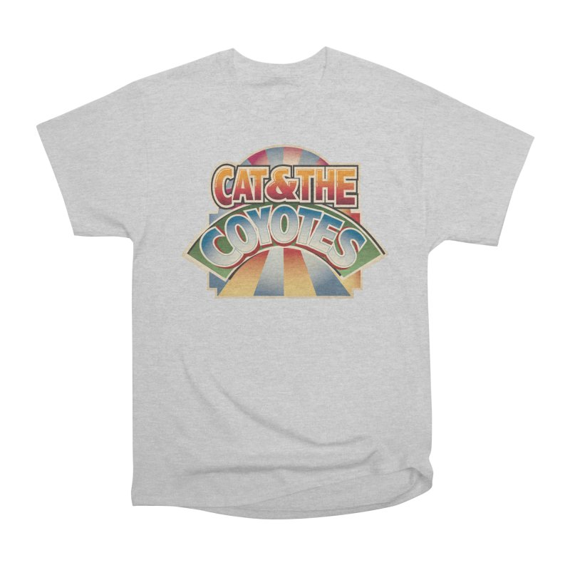 Traveling Coyotes Men's Heavyweight T-Shirt by Magic Inkwell
