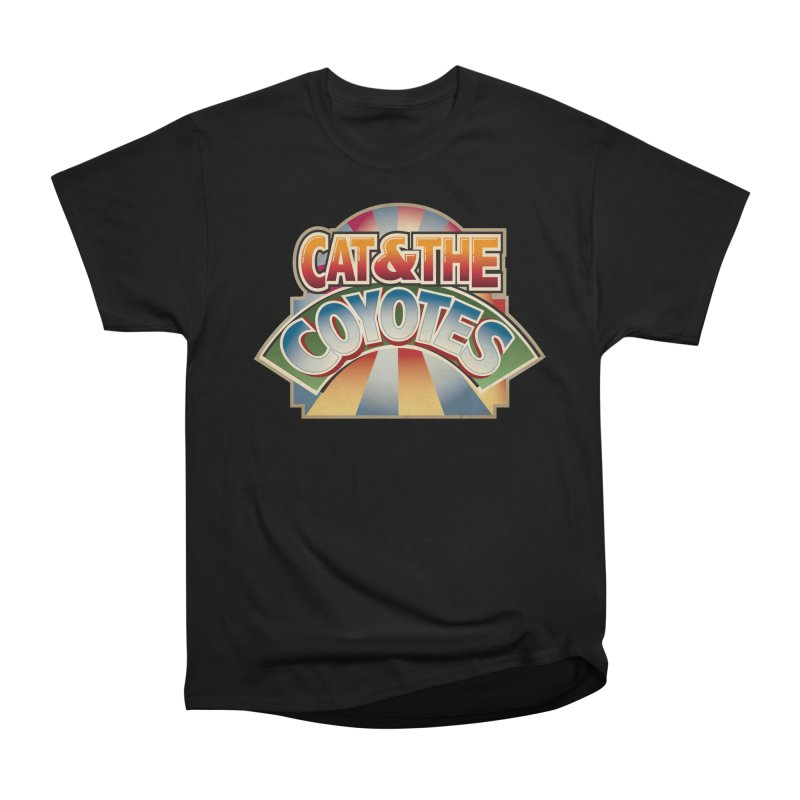 Traveling Coyotes Women's Heavyweight Unisex T-Shirt by Magic Inkwell