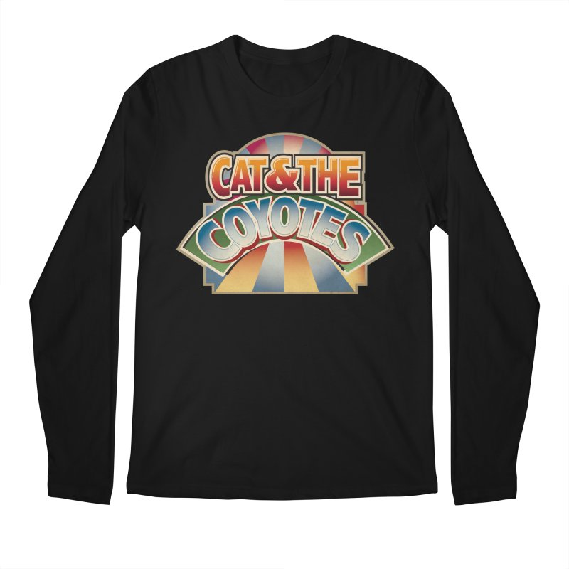 Traveling Coyotes Men's Regular Longsleeve T-Shirt by Magic Inkwell