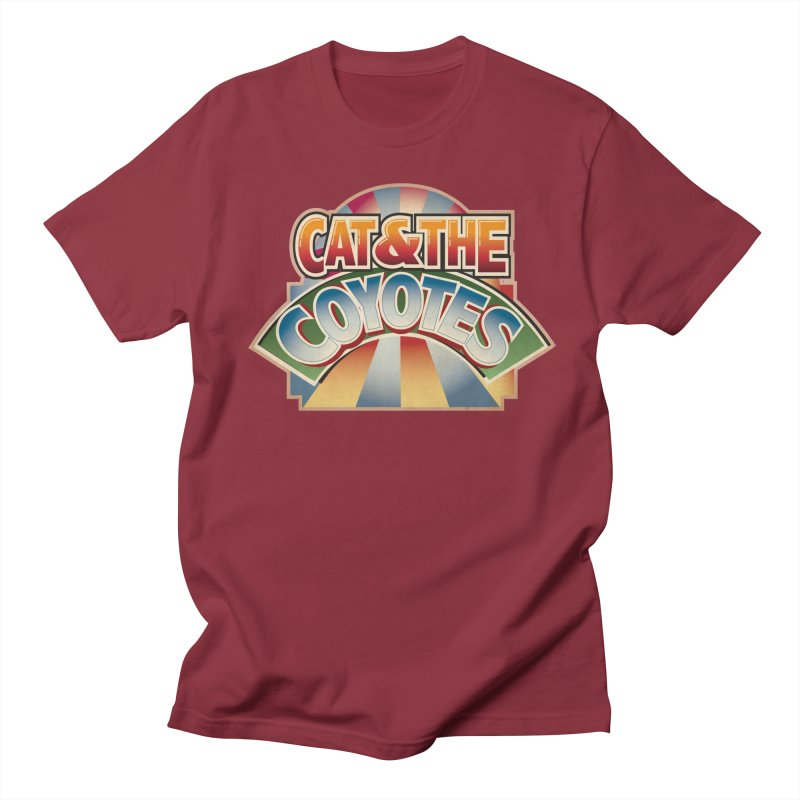 Traveling Coyotes Men's Regular T-Shirt by Magic Inkwell