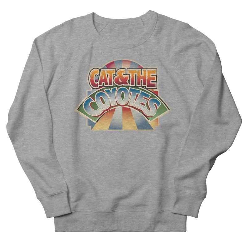 Traveling Coyotes Men's French Terry Sweatshirt by Magic Inkwell