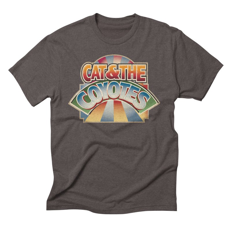 Traveling Coyotes Men's Triblend T-Shirt by Magic Inkwell