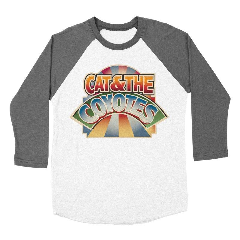 Traveling Coyotes Men's Baseball Triblend Longsleeve T-Shirt by Magic Inkwell