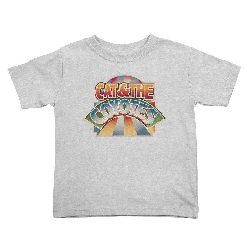 Traveling Coyotes Kids Toddler T-Shirt by Magic Inkwell
