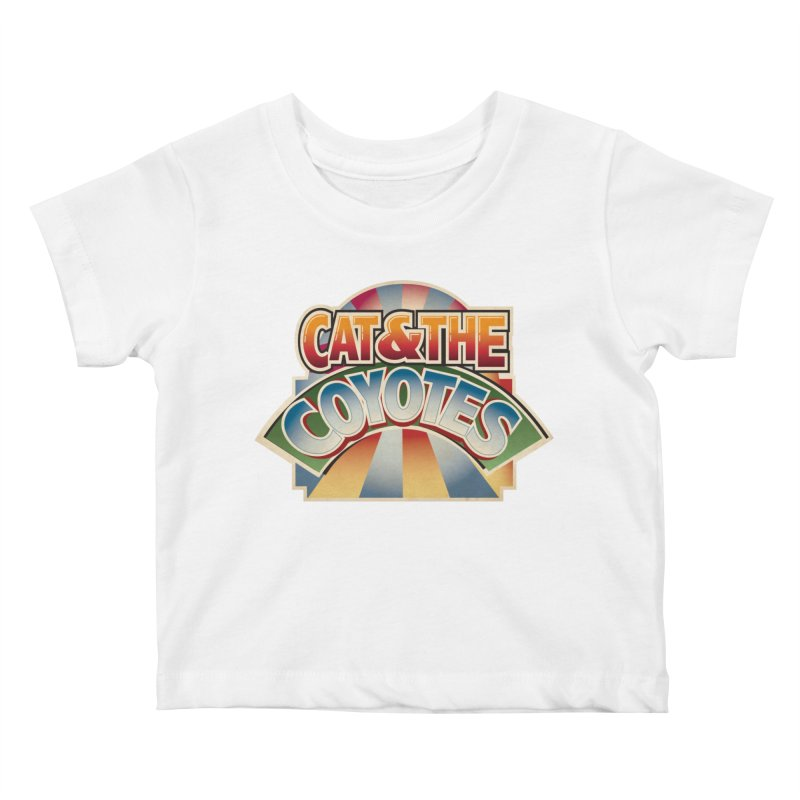 Traveling Coyotes Kids Baby T-Shirt by Magic Inkwell