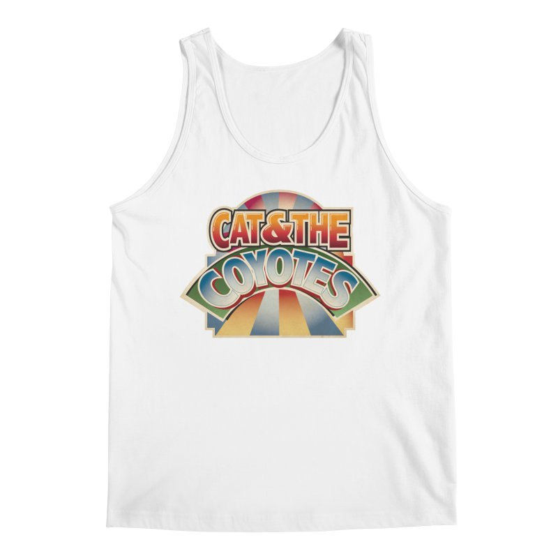 Traveling Coyotes Men's Tank by Magic Inkwell