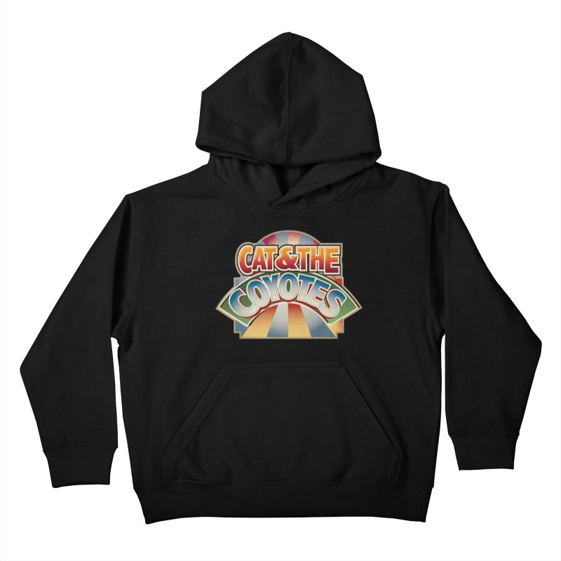 Traveling Coyotes Kids Pullover Hoody by Magic Inkwell