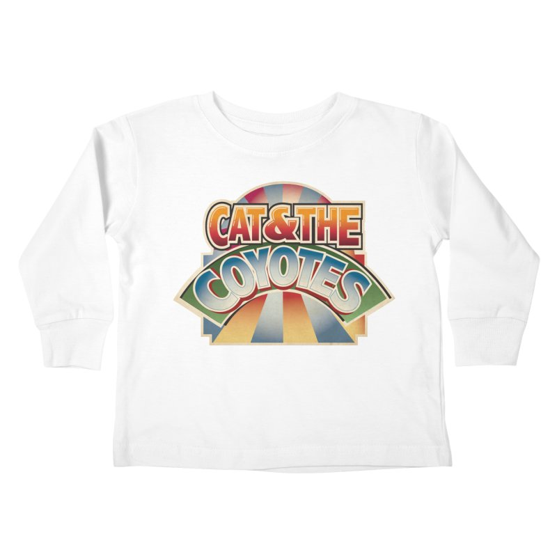 Traveling Coyotes Kids Toddler Longsleeve T-Shirt by Magic Inkwell