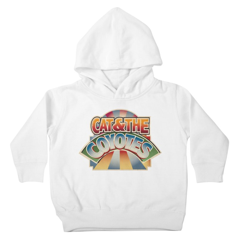 Traveling Coyotes Kids Toddler Pullover Hoody by Magic Inkwell