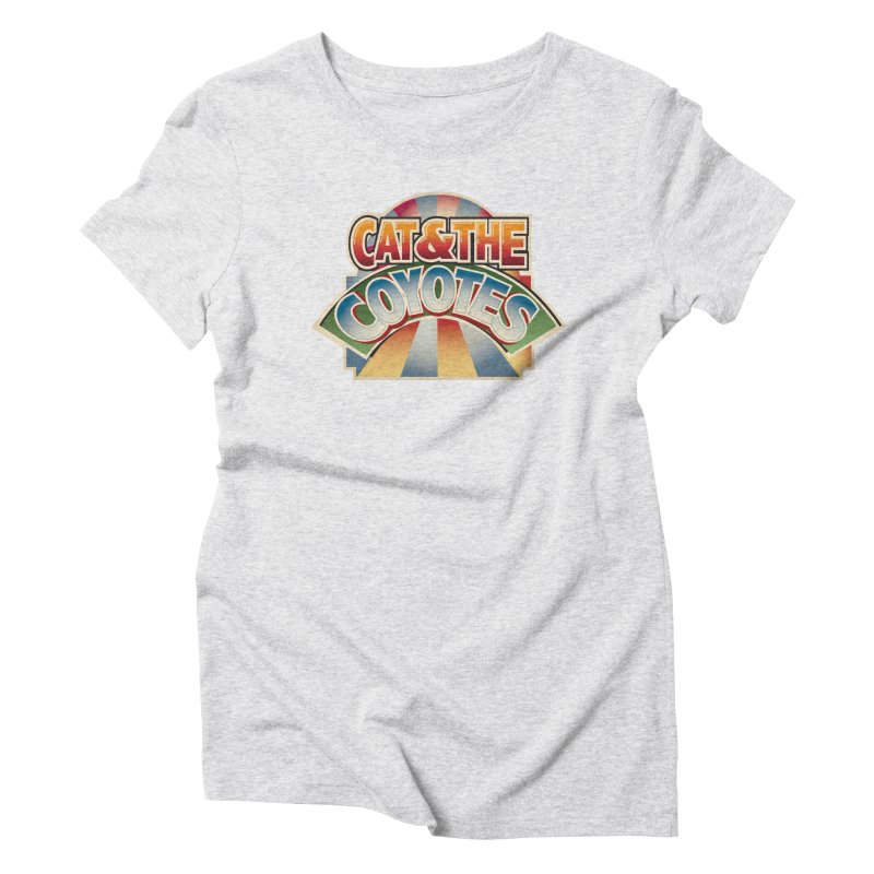 Traveling Coyotes Women's Triblend T-Shirt by Magic Inkwell