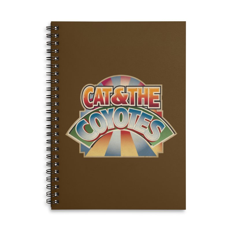 Traveling Coyotes Accessories Notebook by Magic Inkwell