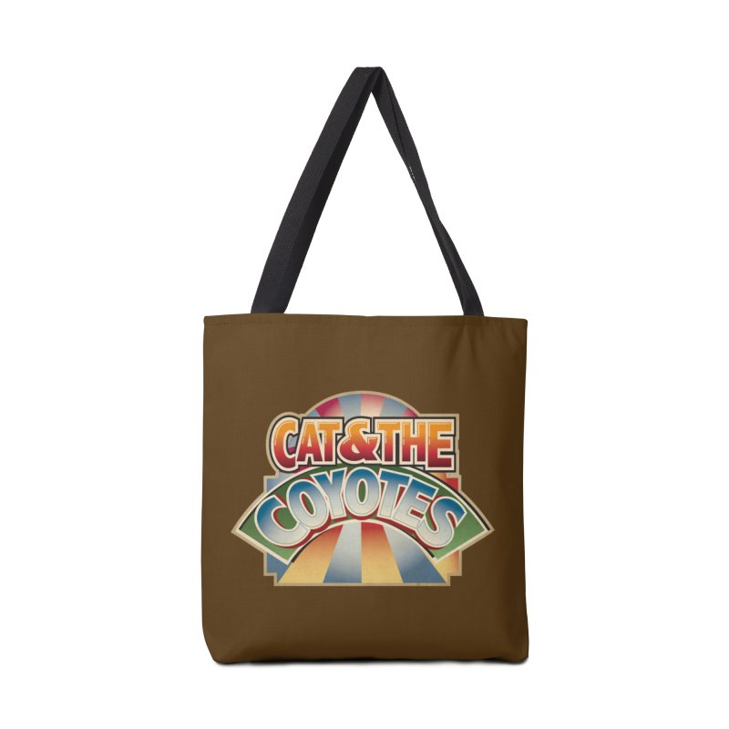 Traveling Coyotes Accessories Tote Bag Bag by Magic Inkwell
