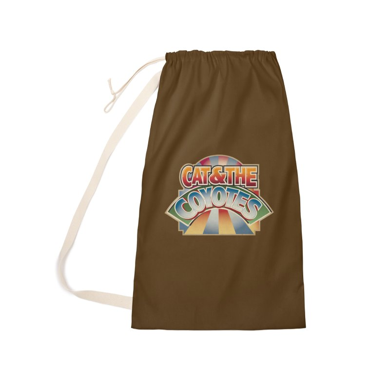Traveling Coyotes Accessories Laundry Bag Bag by Magic Inkwell