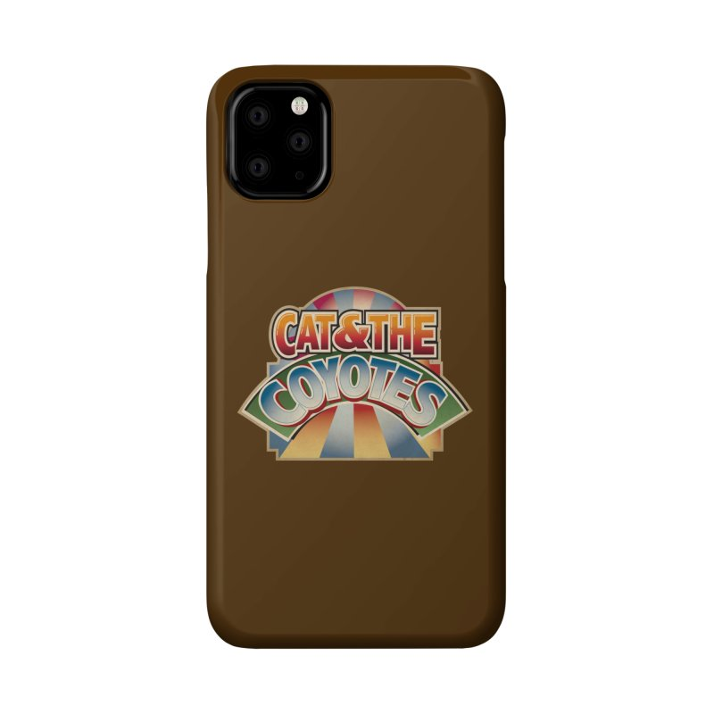 Traveling Coyotes Accessories Phone Case by Magic Inkwell