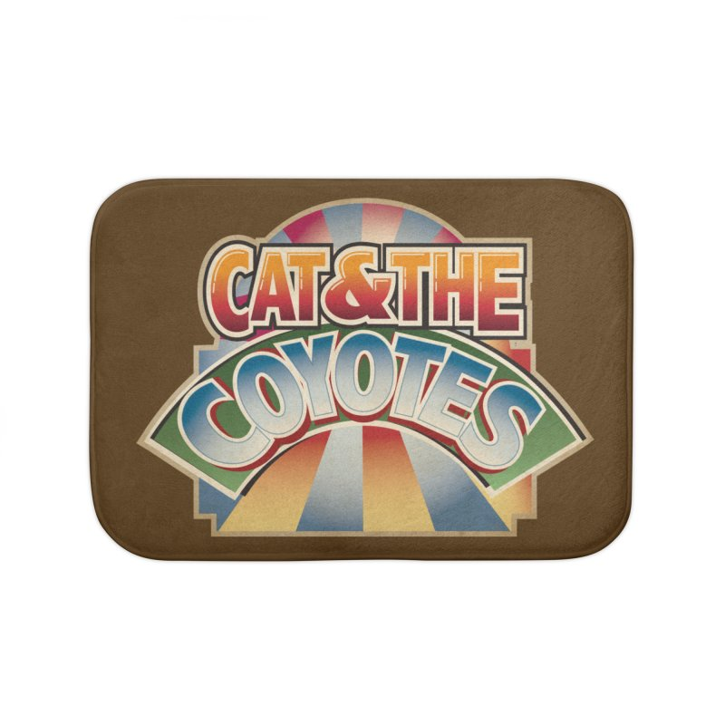 Traveling Coyotes Home Bath Mat by Magic Inkwell