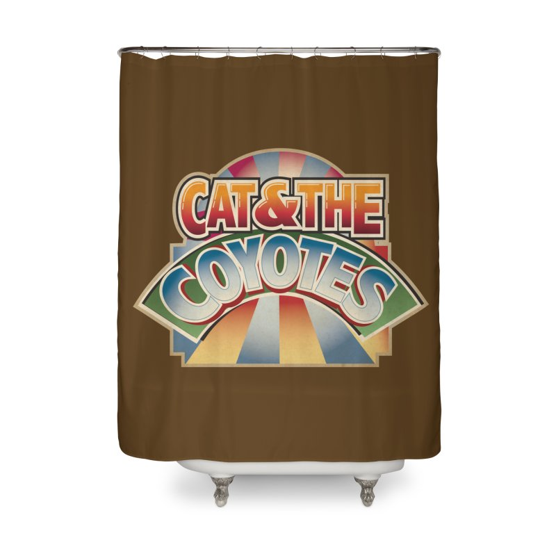 Traveling Coyotes Home Shower Curtain by Magic Inkwell