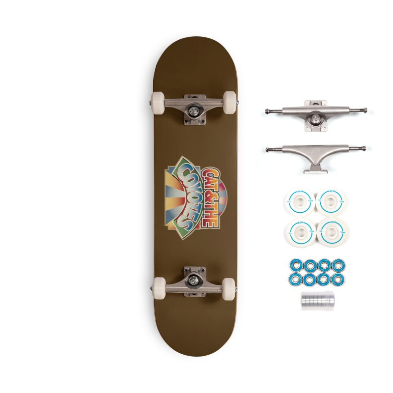 Traveling Coyotes Accessories Complete - Basic Skateboard by Magic Inkwell