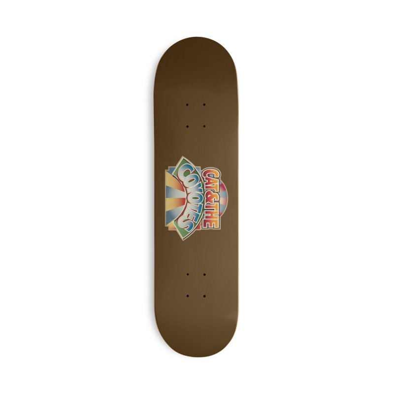 Traveling Coyotes Accessories Deck Only Skateboard by Magic Inkwell