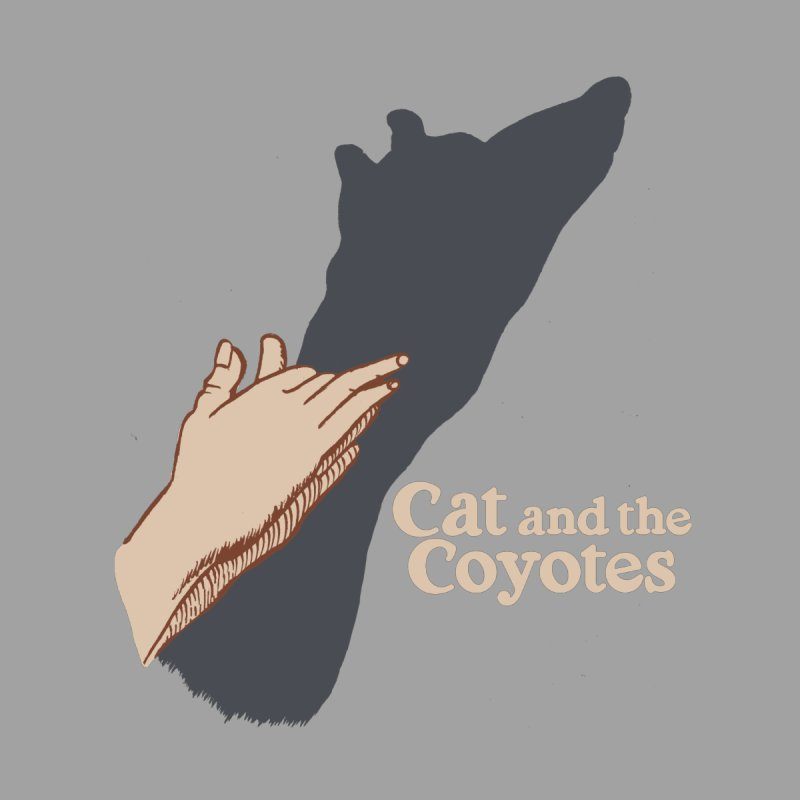 Cat and the Coyotes Ombromanie Tee None  by Magic Inkwell