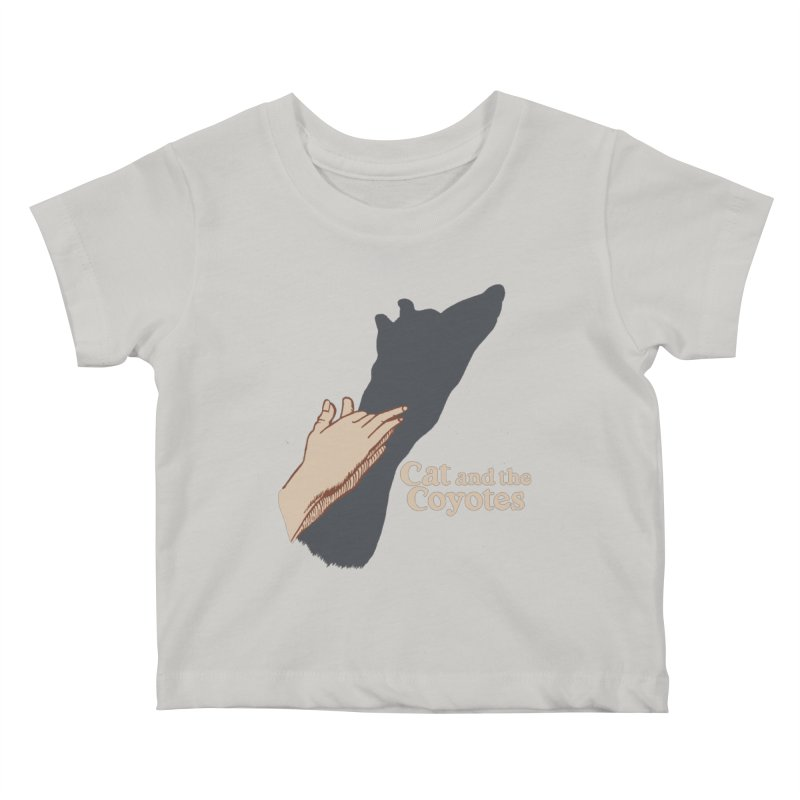Cat and the Coyotes Ombromanie Tee Kids Baby T-Shirt by Magic Inkwell