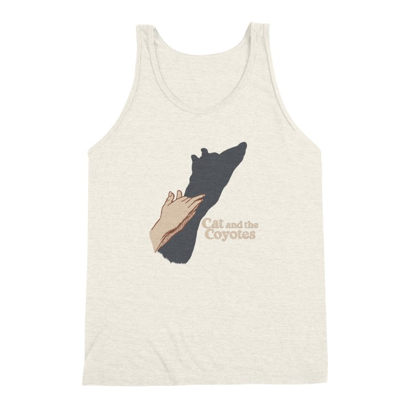 Cat and the Coyotes Ombromanie Tee Men's Triblend Tank by Magic Inkwell
