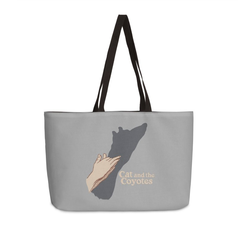 Cat and the Coyotes Ombromanie Tee Accessories Weekender Bag Bag by Magic Inkwell
