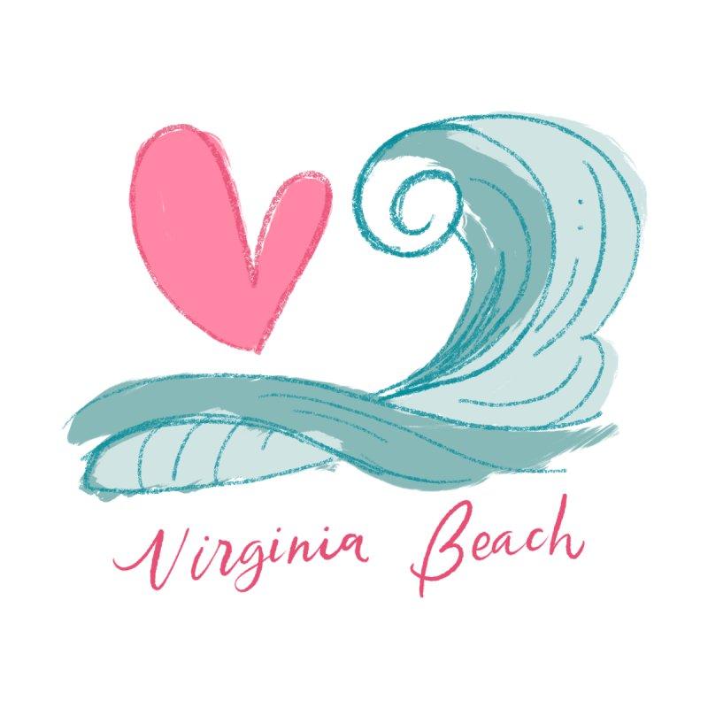 <3 Virginia Beach Women's Tank by Ceindydoodles's Artist Shop