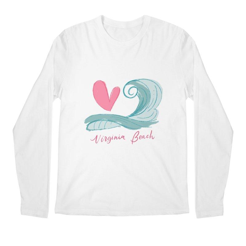 <3 Virginia Beach Men's Regular Longsleeve T-Shirt by Ceindydoodles's Artist Shop