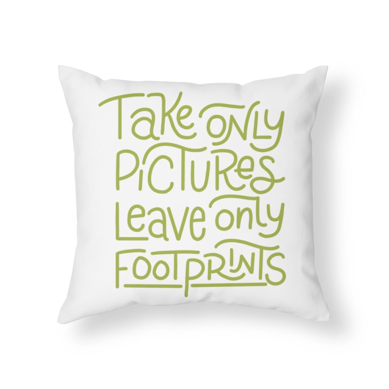 Nature Rules Home Throw Pillow by Ceindydoodles's Artist Shop