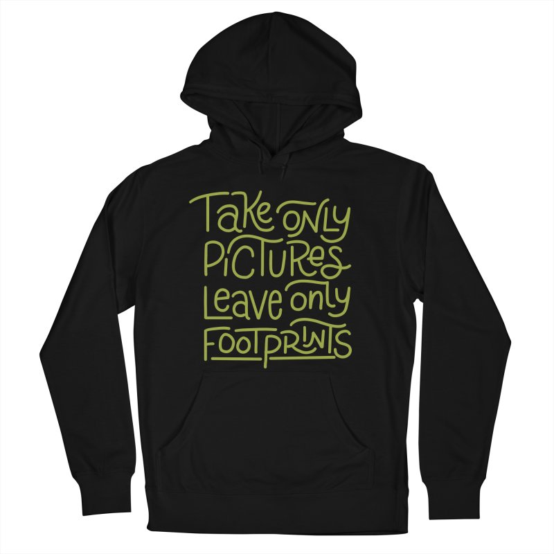Nature Rules Men's French Terry Pullover Hoody by Ceindydoodles's Artist Shop