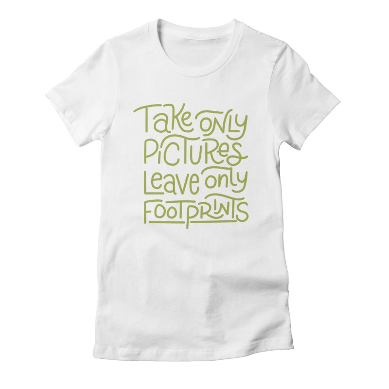 Nature Rules Women's Fitted T-Shirt by Ceindydoodles's Artist Shop