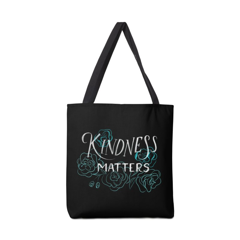 Kindness Matters Accessories Tote Bag Bag by Ceindydoodles's Artist Shop