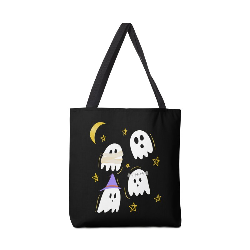 Cute Ghosts Want to Dress Up, too Accessories Tote Bag Bag by Ceindydoodles's Artist Shop