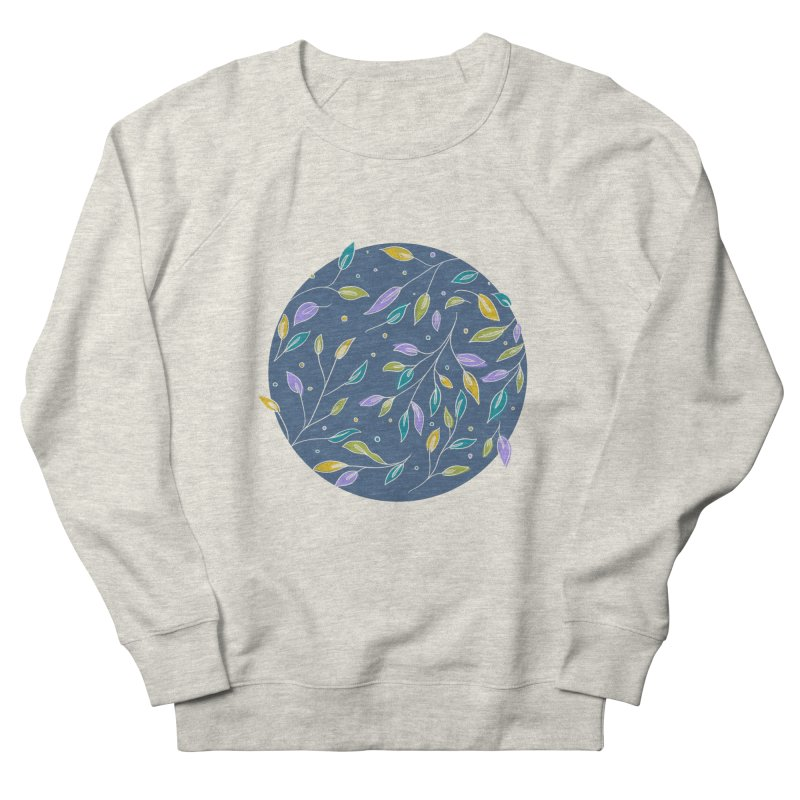 Leaves are Pretty, too Women's French Terry Sweatshirt by Ceindydoodles's Artist Shop