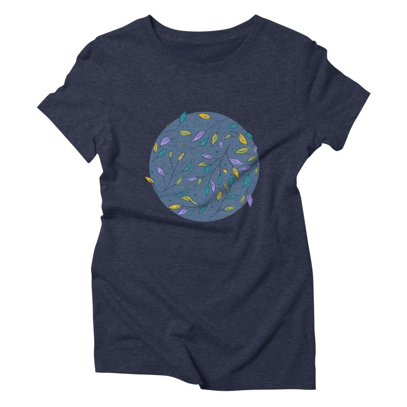 Leaves are Pretty, too Women's Triblend T-Shirt by Ceindydoodles's Artist Shop