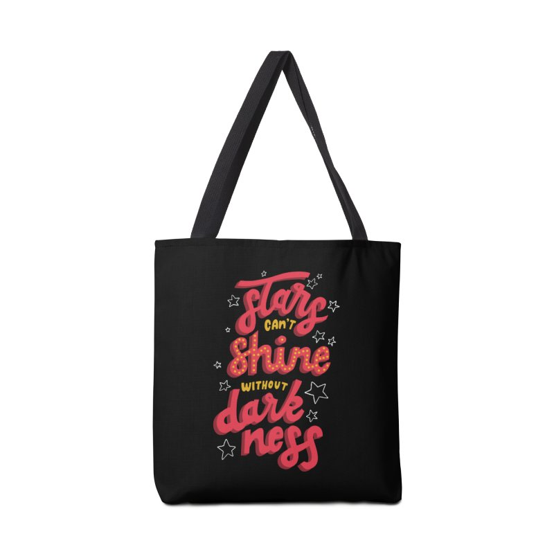 Stars Can't Shine Without Darkness Accessories Bag by Ceindydoodles's Artist Shop
