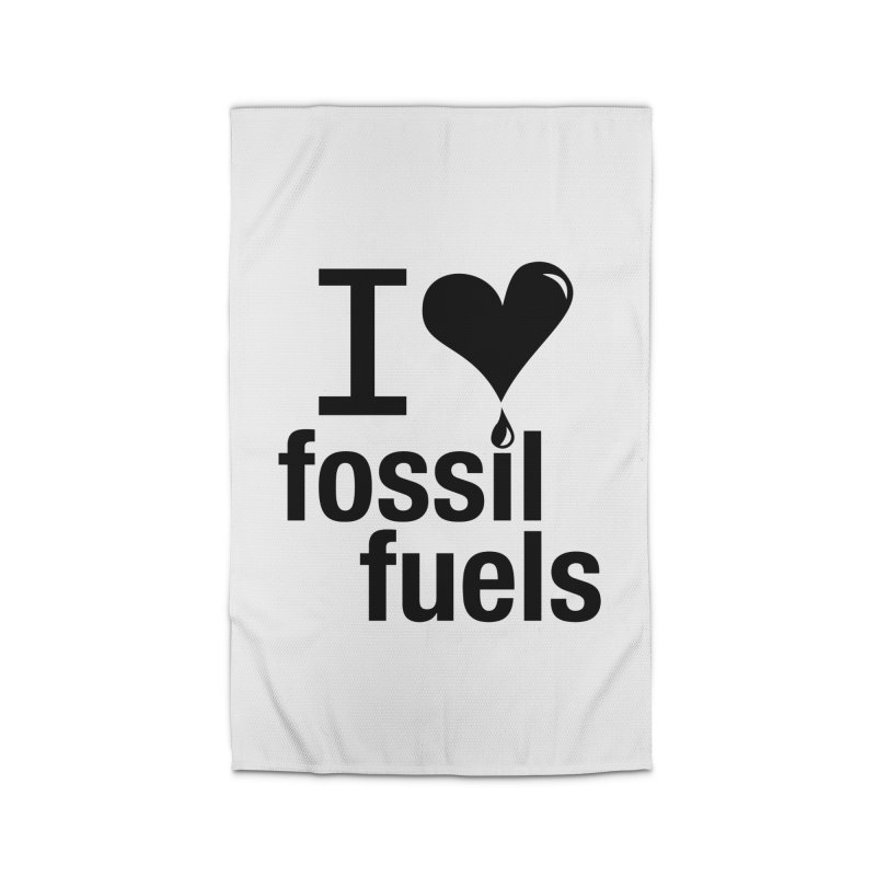 I Love Fossil Fuels Home Rug by Center for Industrial Progress's Artist Shop