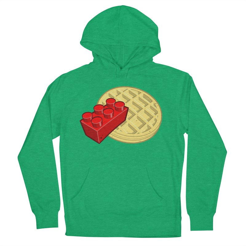 Lego My Eggo Men's French Terry Pullover Hoody by ChadTownsend's Artist Shop