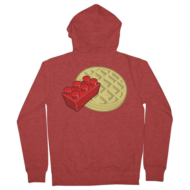 Lego My Eggo Women's French Terry Zip-Up Hoody by ChadTownsend's Artist Shop