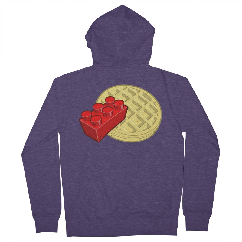 Lego My Eggo Men's French Terry Zip-Up Hoody by ChadTownsend's Artist Shop