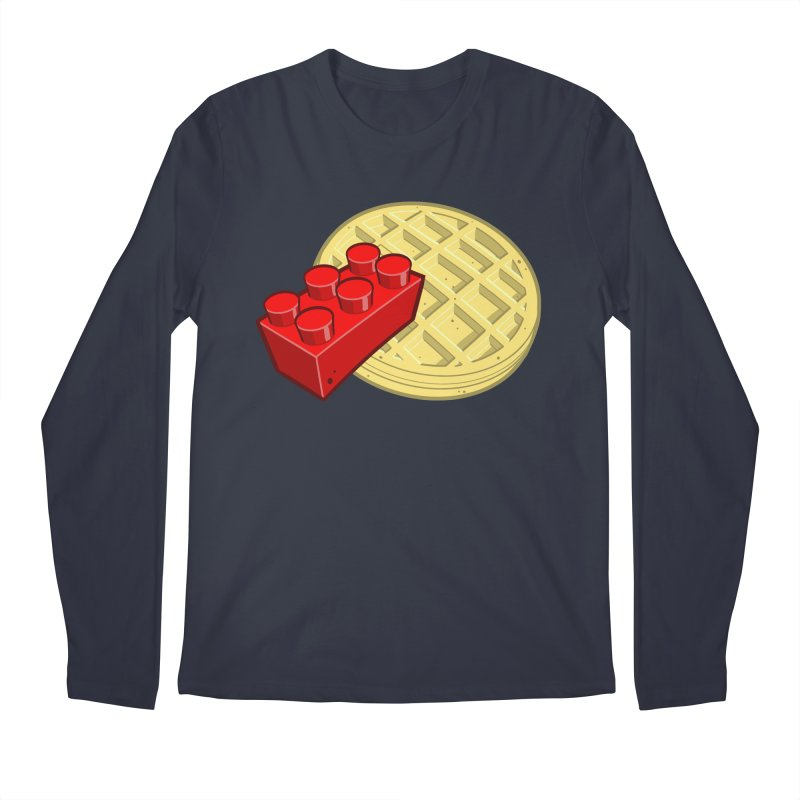 Lego My Eggo Men's Longsleeve T-Shirt by ChadTownsend's Artist Shop