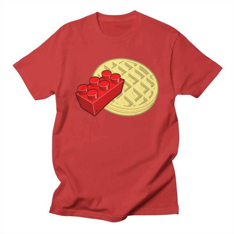 Lego My Eggo Men's Regular T-Shirt by ChadTownsend's Artist Shop