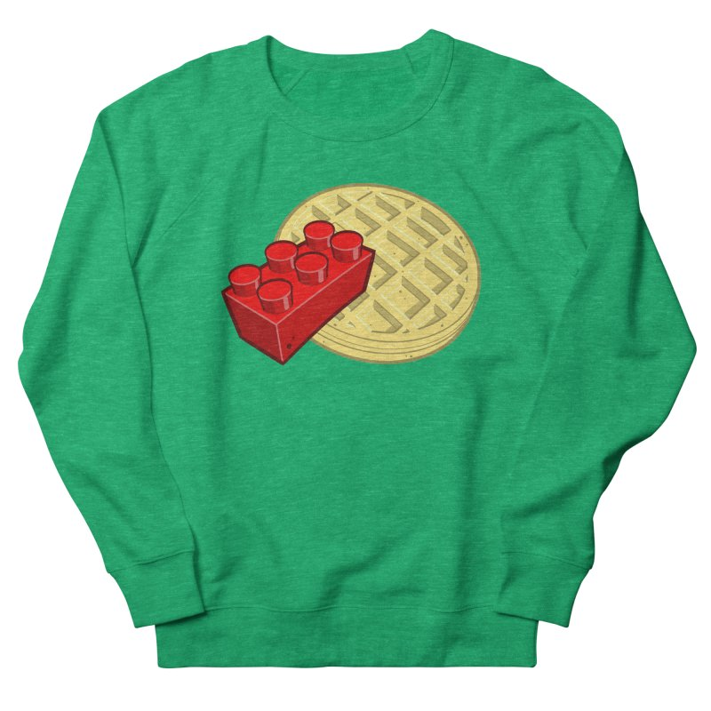 Lego My Eggo Women's French Terry Sweatshirt by ChadTownsend's Artist Shop